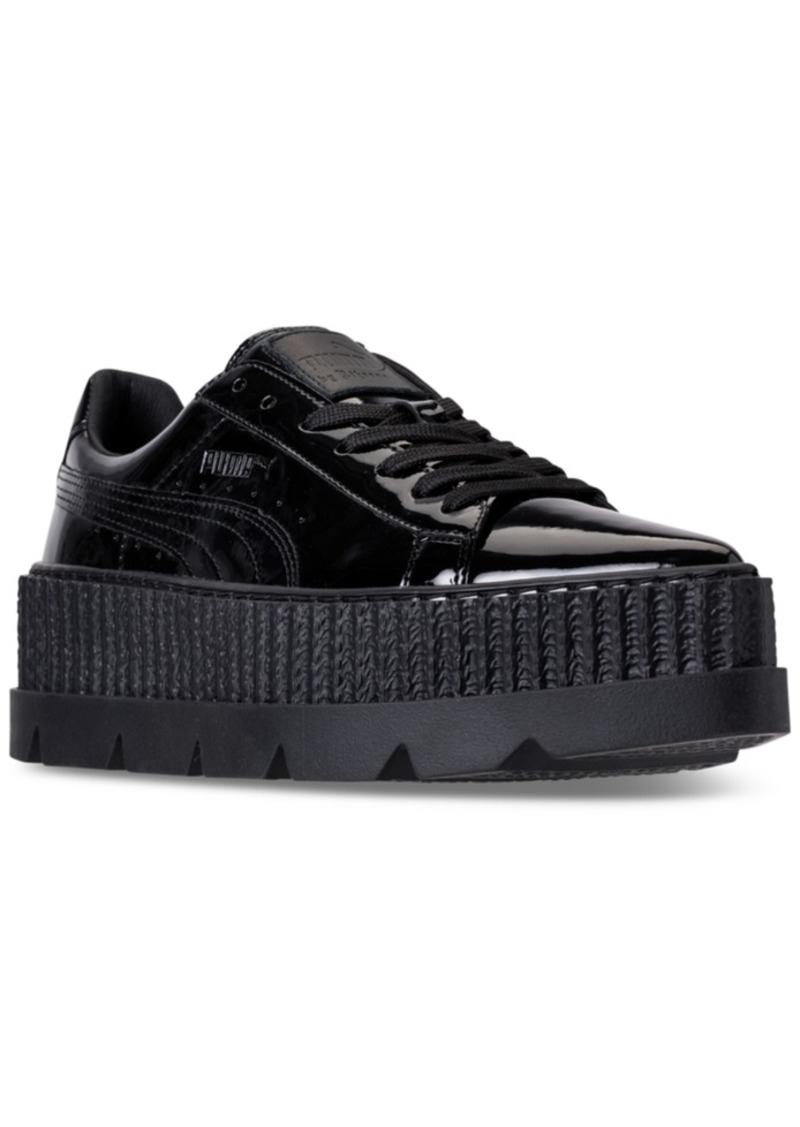 innovative design ddee6 9be51 Women's Fenty x Rihanna Pointy Creeper Patent Casual Sneakers from Finish  Line
