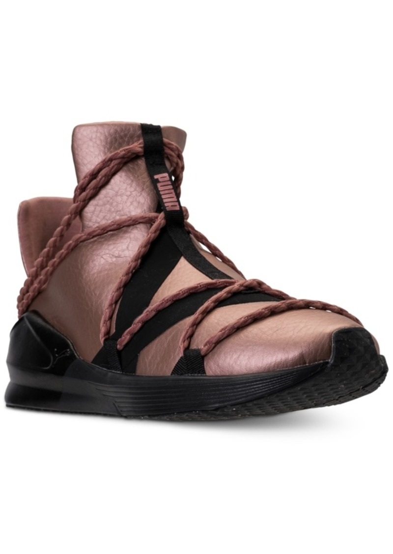 46412129a2f Puma Women s Fierce Rope Copper Velvet Rope Training Sneakers from Finish  Line