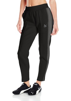 PUMA Women's Gold T7 7/8 Pants Black