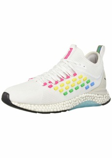 PUMA Women's Hybrid FUSEFIT Sneaker White-Glacier Gray