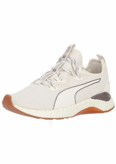 PUMA Women's Hybrid Runner Sneaker Whisper White  M US