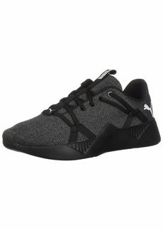 PUMA Women's Incite Knit Sneaker Black  M US