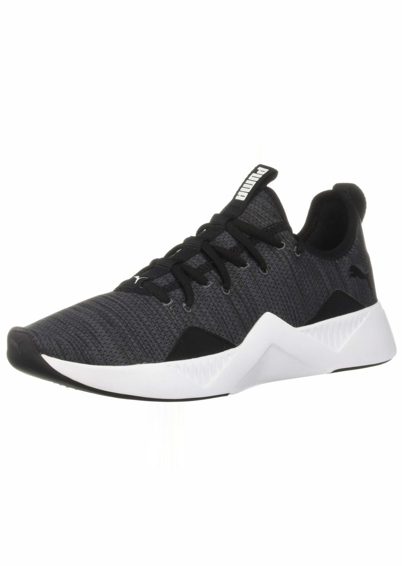 PUMA Women's Incite Modern WNS Sneaker Black White  M US