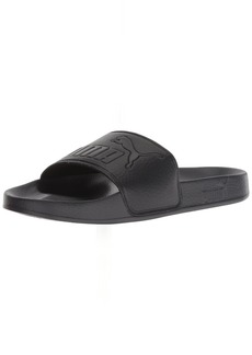 PUMA Women's Leadcat Slide Sandal Black