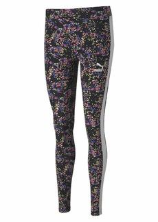 PUMA Women's Legging Black-Splat All Over Print XS