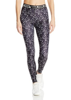 PUMA Women's Leggings White Black