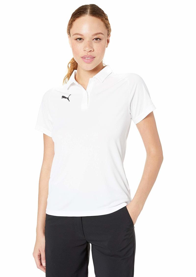 PUMA Women's Liga Sideline Polo Whitepuma Black