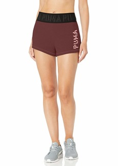 "PUMA Women's French Terry 3"" Shorts"