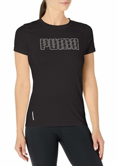 PUMA Women's Running T-Shirt Black M