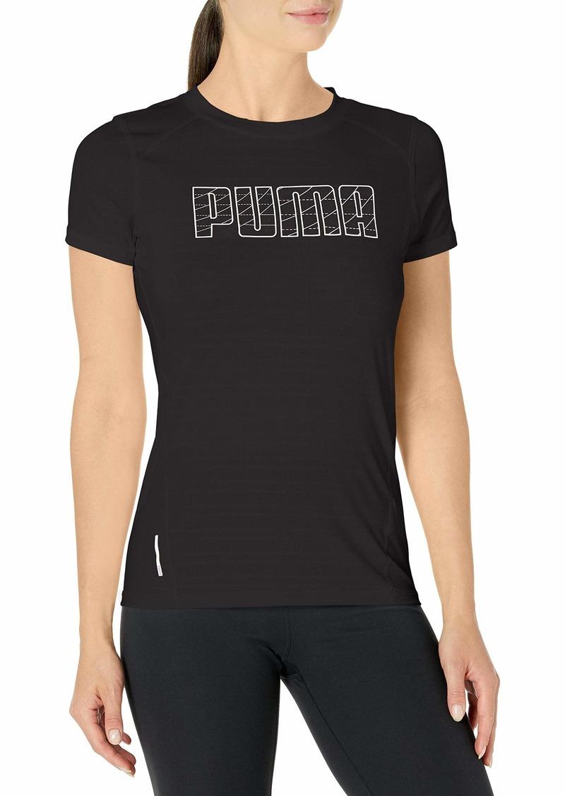 PUMA Women's Running T-Shirt Black M