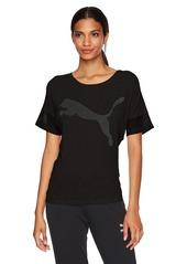 PUMA Women's Loose Fit T-Shirt Black XS