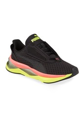 Puma Women's LQDCELL Shatter XT Sneakers  Black/Yellow