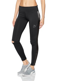 PUMA Women's Lux Leggings Black L