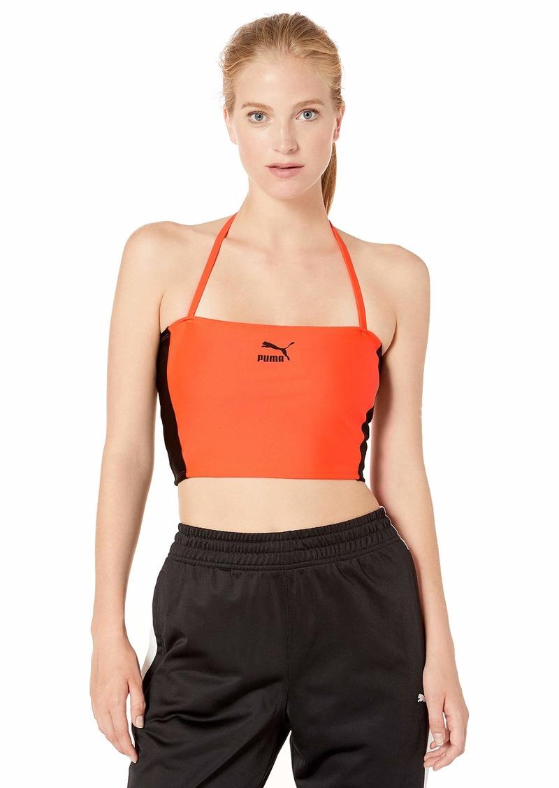 PUMA Women's luXTG Bandeau Top Shirt  XL