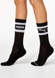 Puma Women's Mid-Length Terry Tube Socks