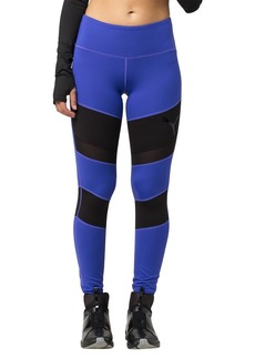 PUMA Women's Mix Material Tight Leggigns Royal Blue Black
