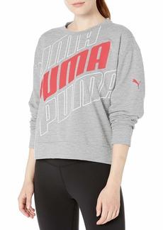 PUMA Women's Modern Sport Crew Sweatshirt  S