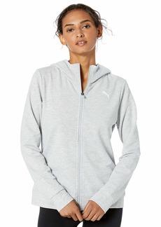 PUMA Women's Modern Sport Full Zip Hoodie  S
