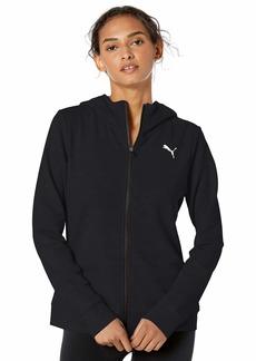 PUMA Women's Modern Sport Full Zip Hoodie Black