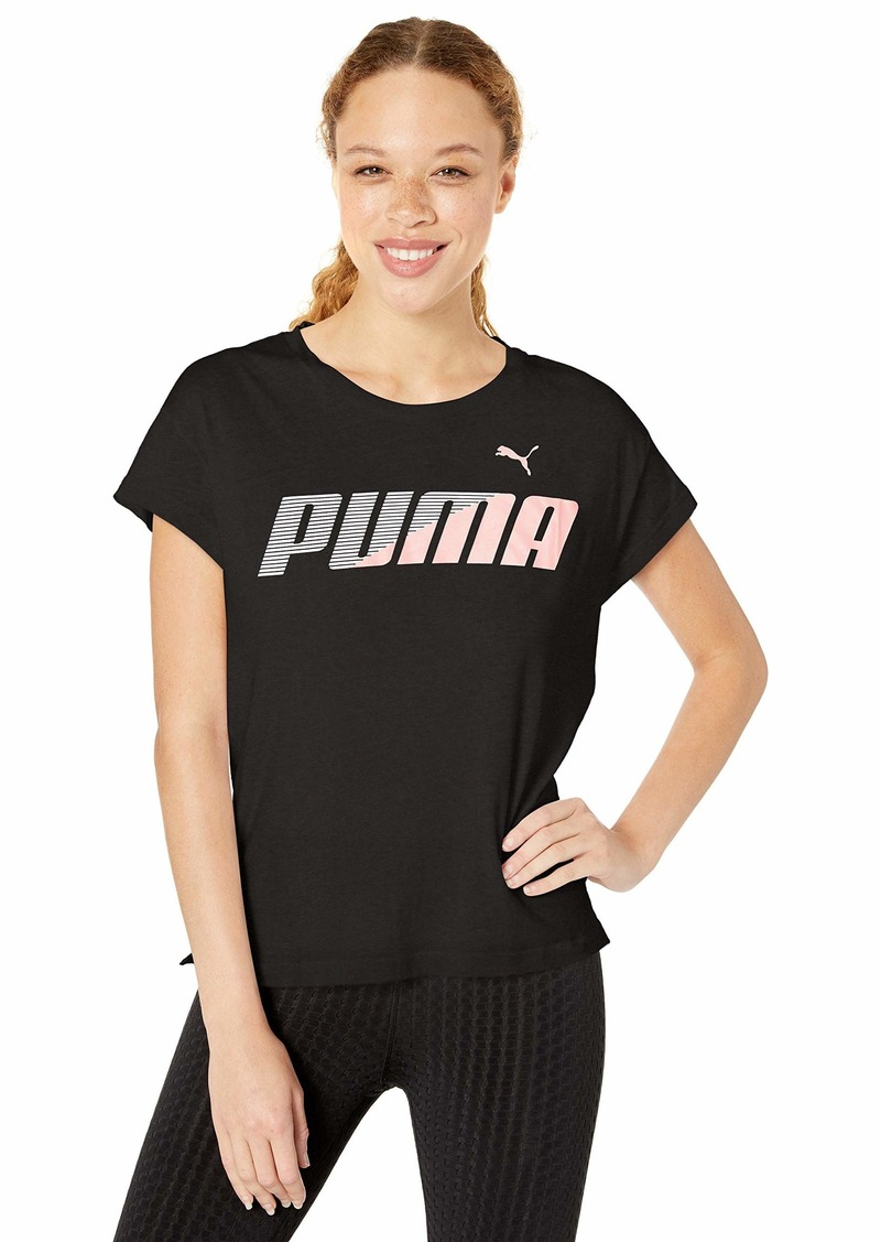 PUMA Women's Modern Sport Graphic TEE Shirt puma Black XS