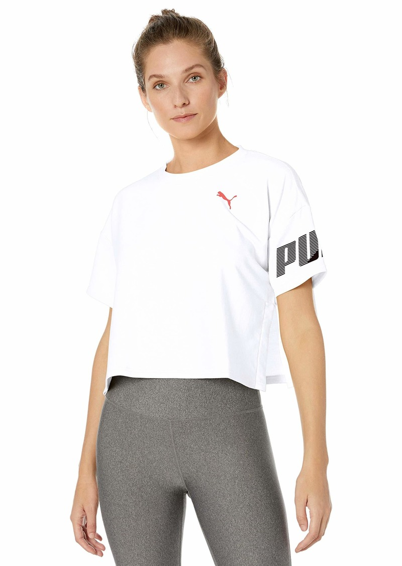 PUMA Women's Modern Sport T-Shirt White