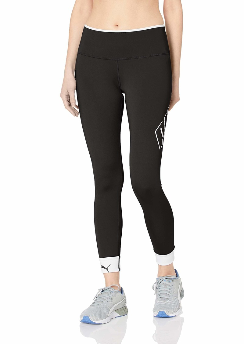 PUMA Women's Modern Sports FOLDUP Legging Black L