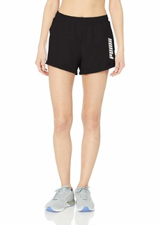 PUMA Women's Modern Sports Shorts Black