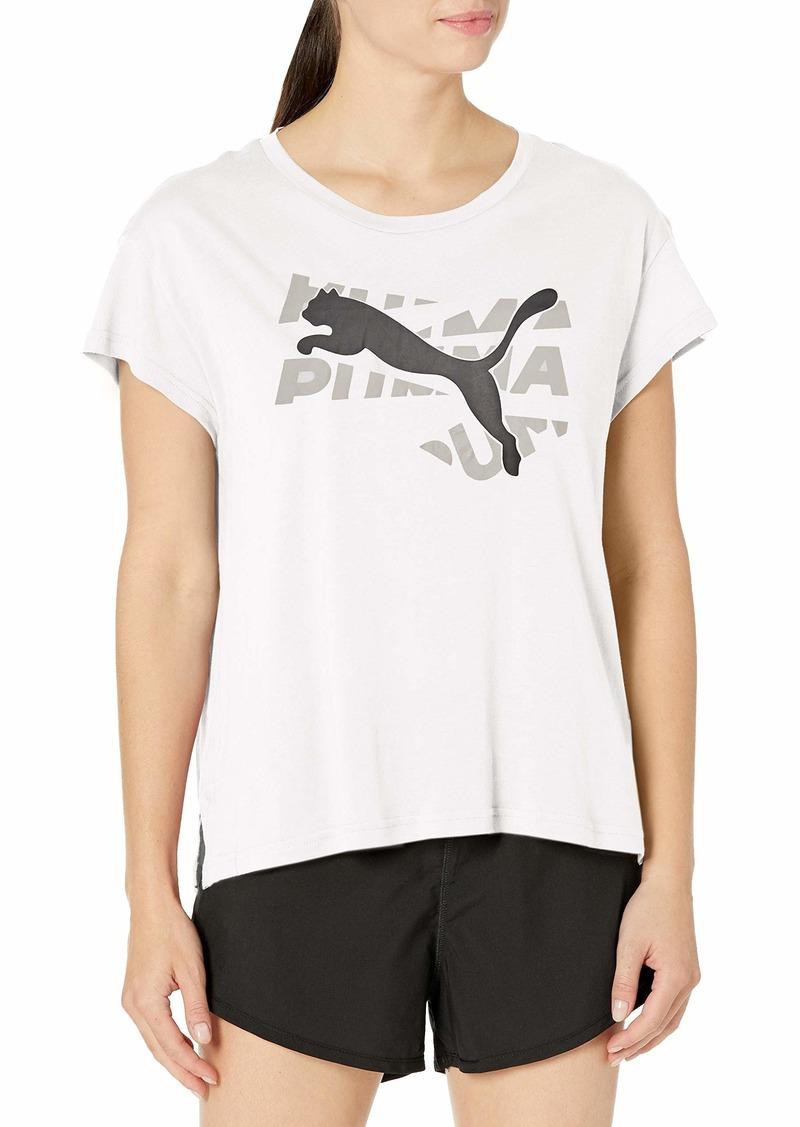 PUMA Women's Modern Sport Tee White S