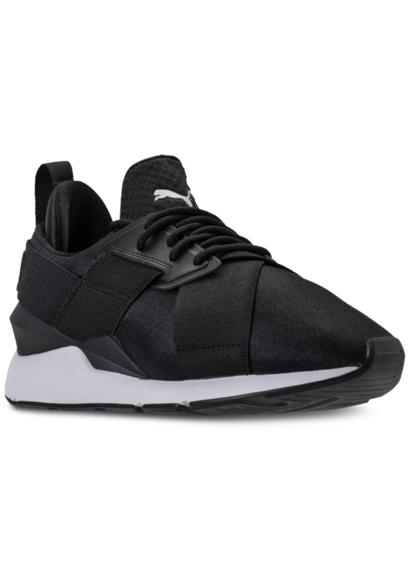 On Sale today! Puma Puma Women s Muse Satin Ep Casual Sneakers from ... df230a837