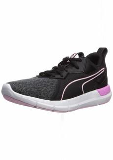PUMA Women's NRGY Dynamo Futuro Sneaker Black-Pale Pink  M US