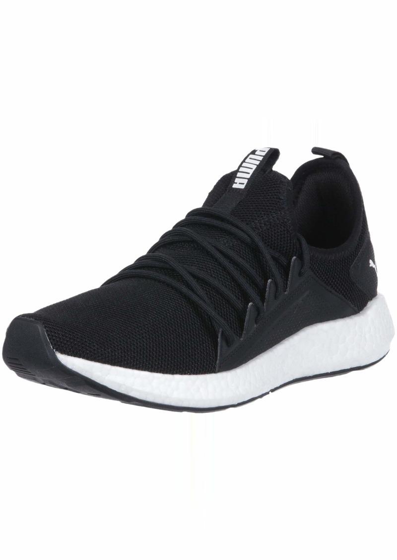 PUMA Women's NRGY Neko Sneaker Black White  M US