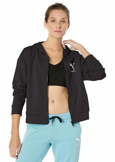 PUMA Women's NU-TILITY Full Zip Hoodie Black