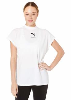 PUMA Women's NU-TILITY TEE White M