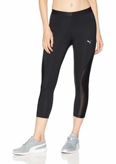PUMA Women's Oceanaire 3/4 Tight Leggings Black XL