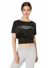 PUMA Women's On The Brink T-Shirt Black L