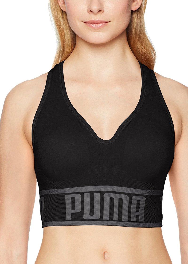 2d25f4dc92 Puma PUMA Women's Seamless Sports Bra S   Intimates