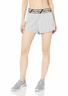 """PUMA Women's OWN IT 3"""" Shorts  L"""