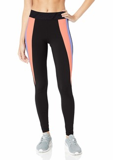 PUMA Women's OWN IT Full Tight Leggings Black/Bright Peach L