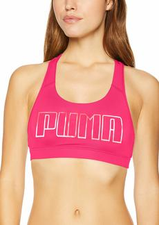 PUMA Women's Powershape Forever Racerback Sports Bra Pink S
