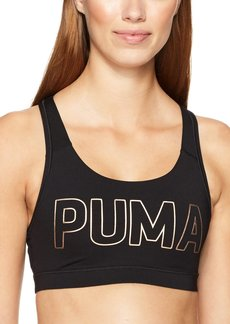 PUMA Women's Powershape Forever Sports Bra Black Copper