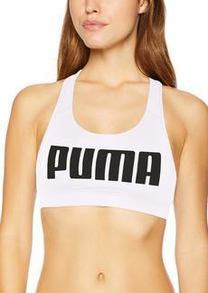 PUMA Women's Powershape Forever Racerback Sports Bra White