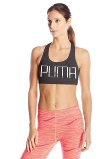 PUMA Women's Powershape Forever Sports Bra Black/Iridescent L