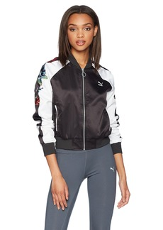 PUMA Women's Premium Archive T7 Jacket Black M