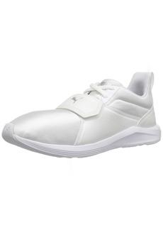 PUMA Women's Prodigy AON Wn Sneaker White-Metallic Beige  M US