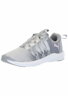 PUMA Women's Prowl ALT Satin Sneaker Quarry White  M US