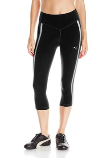PUMA Women's Powershape Knee Capri Pants Black