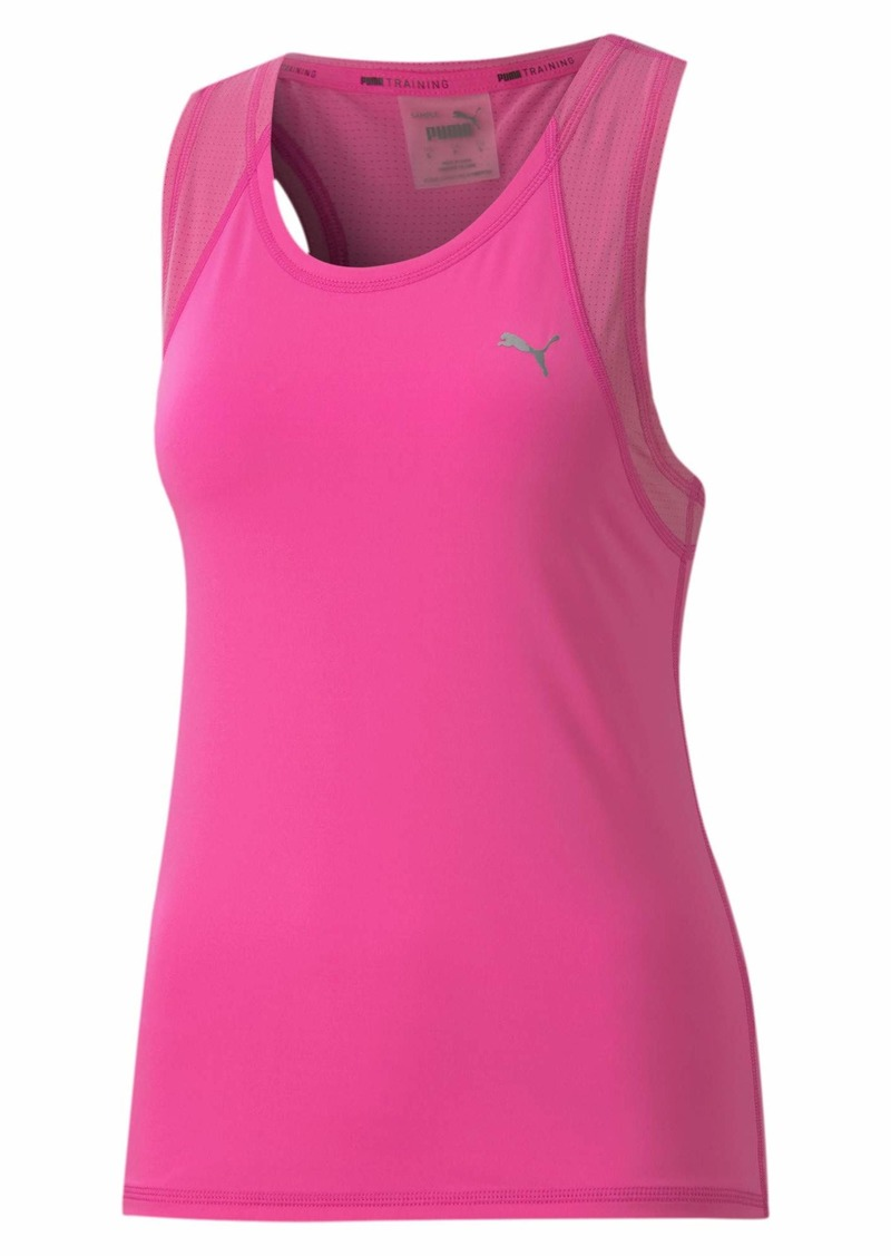 PUMA Women's Racerback Training Tank TOP  L