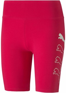 "PUMA Women's Rebel 7"" Short Tight  XS"