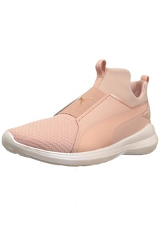 PUMA Women's Rebel Mid WNS En Pointe Sneaker Peach Beige  M US