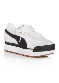PUMA Women's Roma Amor Heritage Platform Low-Top Sneakers